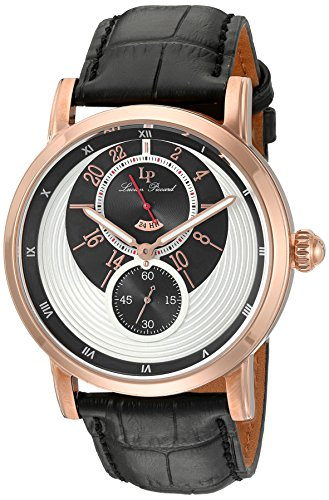 Lucien Piccard Men's Analogue Quartz Watch with Leather Strap LP-40043-RG-02S
