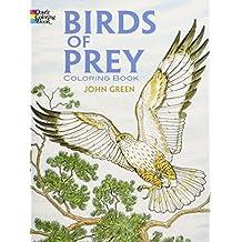 Birds of Prey Coloring Book (Dover Nature Coloring Book)