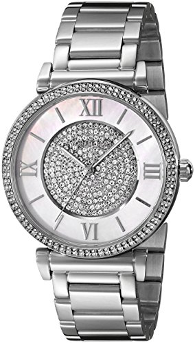 Michael Kors Damen-Armbanduhr Analog Quarz Edelstahl MK3355