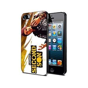 IFM1 Infamous :second son game Silikon Schutzhülle für Nexus 4 Hülle PVC Cover Case Black@UTMSHOP