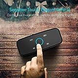 DOSS SoundBox- Touch Kabellose Portabler Bluetooth Lautsprecher mit unglaublicher 12-Stunden Spielzeit & Sensitive-Touch Wireless 12W Speakers mit TF Karte Funktion und Reinem Bass - 3