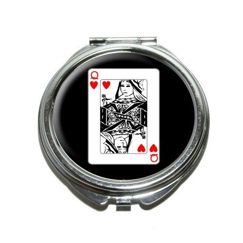 Spielkarten Königin der Herzen KOMPAKT Geldbörse ()