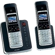 SwissVoice Eurit 459T Duo - telephones (DECT, Desk, Black, Handset, Polyphonic, 67 x 98 pixels)
