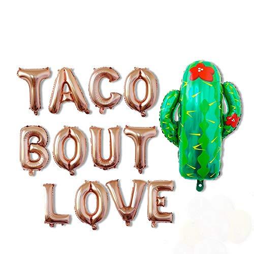 16 zoll Rose Gott Kaktus Ballon Fiesta Party Dekorationen Wüste Geburtstag Decor Mexikanischen Geburtstag Partei Liefert Taco Kampf eine Party