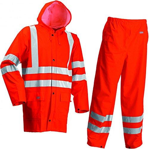 Lyngsoe Jacke und Hose, Größe XXL, orange, 1 Stück, LR552-05-XXL -