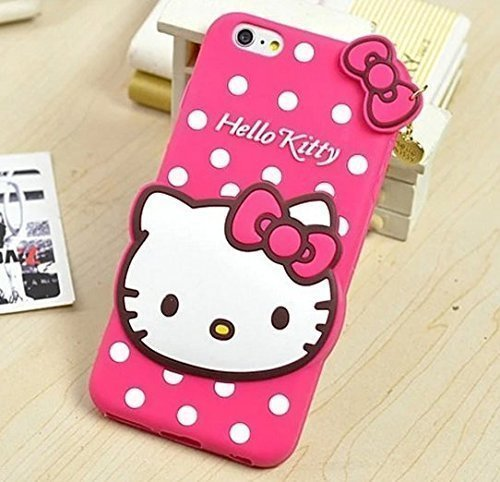 Anvika Hello Kitty Back Cover for VIVO Y55 / VIVO Y55L - RED