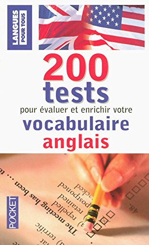 200 tests de vocabulaire anglais