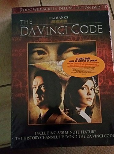 The Da Vinci Code - 3 Disc DVD by Ron Howard Film