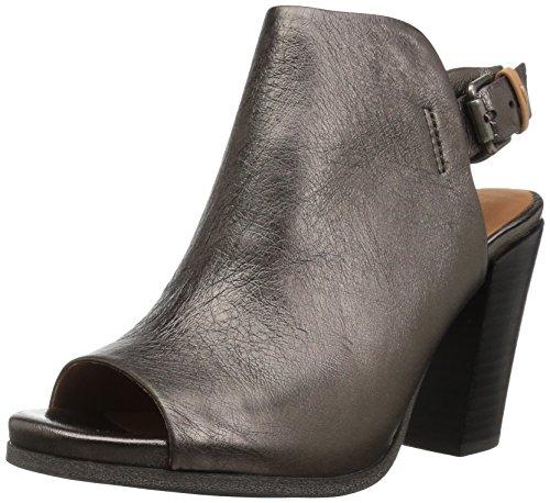 Gentle Souls Women's Shiloh Slingback Peep Toe Bootie Ankle Boot, Medium