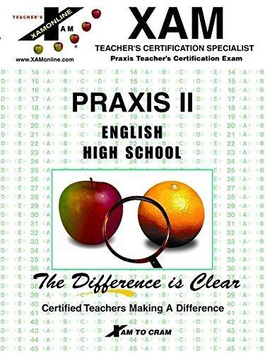 Praxis II English High School (Praxis II Teacher's XAM) by Coleen St Cyr (2002-01-02) par Coleen St Cyr;Joyce Kelly;Dorothea White