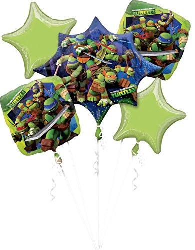 (Amscan 3272101 Folienballon Set Teenage Mutant Ninja Turtles)