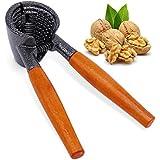 Anwenk pesado de nueces de nuez pecan nogal plier abridor herramienta con mango de madera