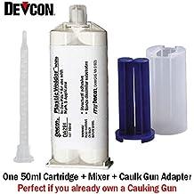 Devcon plástico soldador blanco da291 – endurecido de alta resistencia MMA adhesivo – 50 ml/