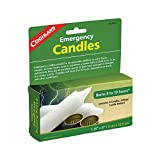 Coghlans Toaster Bougies d'urgence, Homme, Emergency Candles - pkg of 2, blanc, Lot...