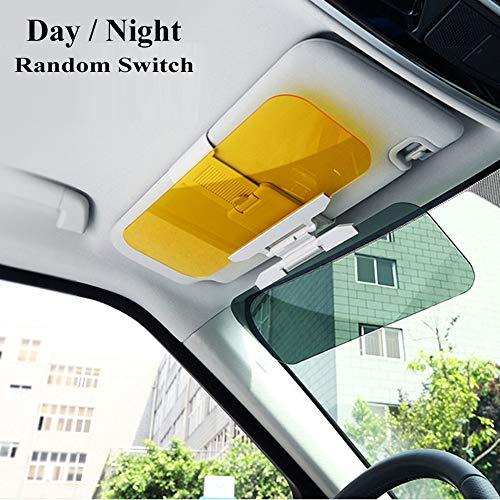 Family Homes Auto Sonnenschutz, 2 in 1 Blendschutz Auto Sonnenblende, Tag- Nacht-Blendschutz für die Auto-Sonnenblende