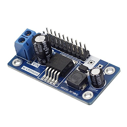SunFounder Step Down LM2596 DC-DC DC to DC Converter Module for Arduino - Inverter Duty Motor