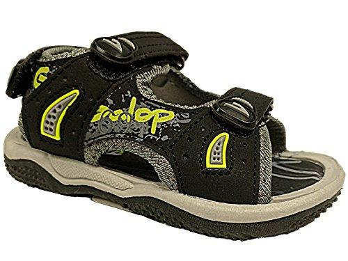 Foster Footwear , Gladiator fille mixte enfant bébé garçon garçon bébé fille noir/vert