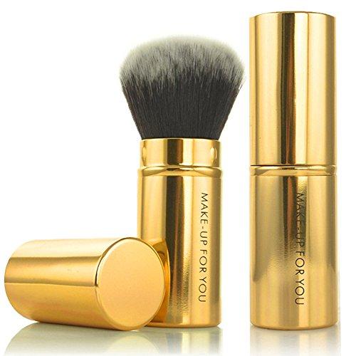 DaySing Brosse Makeup Brushes,Professionnelle Kits ,Kit De Pinceau De Maquillage CosméTique en Poudre pour Fond De Teint RéTractable Kabuki Blush Makeup Brushes Brush Beauté Maquillage