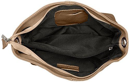 Bags4Less - Josy, Borse a spalla Donna Marrone (Taupe)