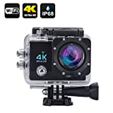 #4: DigiSports Action Camera Go Pro Style Sports Action Camera 4K Ultra HD With Wi-Fi 16 Megapixels