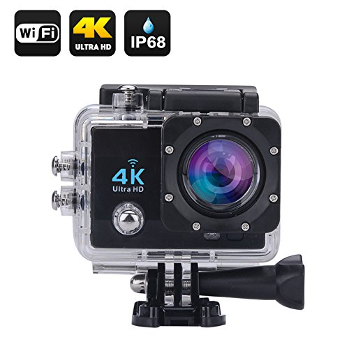 DigiSports Action Camera Go Pro Style Sports Action Camera 4K Ultra HD With Wi-Fi 16 Megapixels