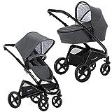 Knorr-Baby Kombi-Kinderwagen mit Schwenkrädern Dune grau
