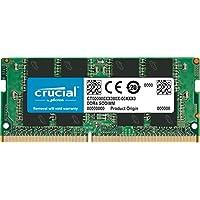 ذاكرة فردية دي دي ار 4 من كروشال (PC4-21300) اس ار اكس 8 سوديم 260 دبوس 16GB Dual Rank CT16G4SFD824A