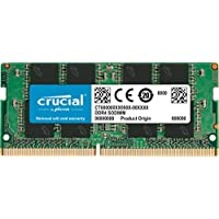 Crucial CT8G4SFS824A 8Go (DDR4, 2400 MT/s, PC4-19200, SR x8, SODIMM, 260-Pin) Mémoire