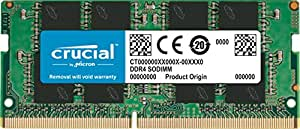 Crucial CT8G4SFS8213 8GB 2133MHz DDR4 260-Pin Laptop Memory