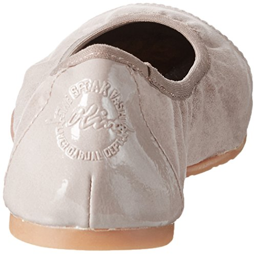 PEPPER s Geschlossene 22118 Damen Ballerinas Braun 392 Oliver COMB wYrwC
