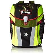 Scout Set de Sacs Scolaires Sac d'Ecole, 41 cm, 18,8 L, Multicolore (Noir)