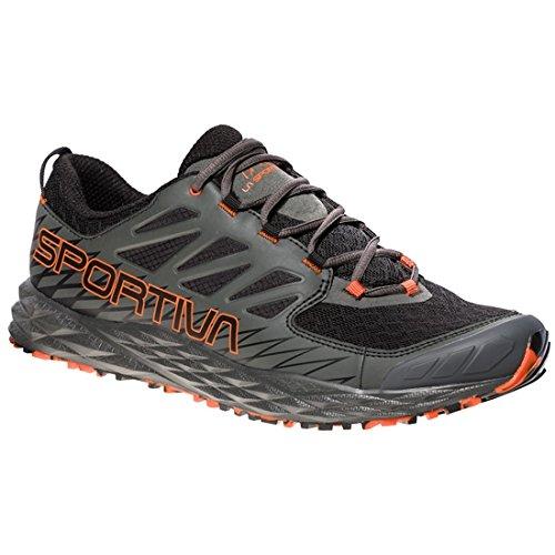La Sportiva Lycan, Zapatillas de Trail Running para Hombre, (Black/Tangerine 000), 44...