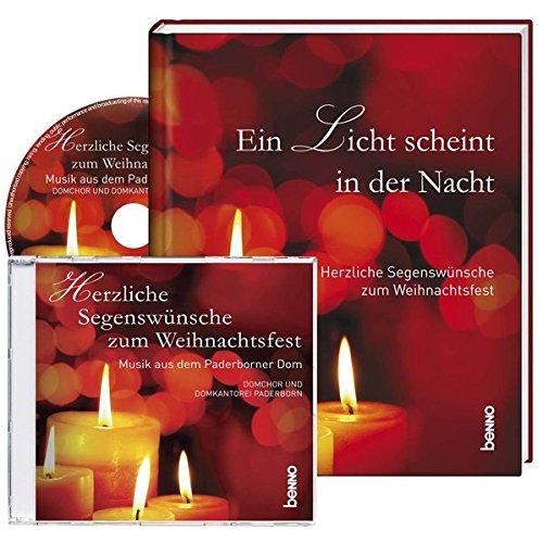 Geschenkbuch »Ein Licht scheint in der Nacht«: Herzliche Segenswünsche zum Weihnachtsfest
