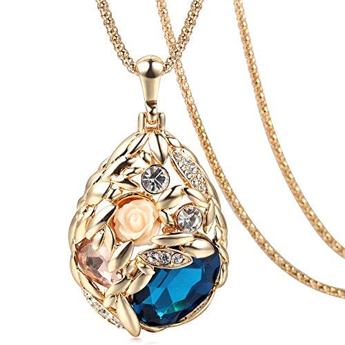 Lily Jewelry Manschettenknöpfe, glänzend, rhodiniert, Design: Britische Flagge, inkl. Geschenkbox