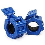 Latinaric Fitness 1 Paar Hantelverschlüsse Hantelstangen Barbell Verschluss für Durchmesser