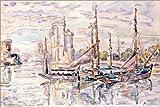 Forex 60 x 40 cm: Le Port de la Rochelle di Paul Signac/akg-images