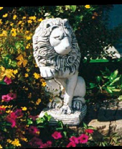 Löwe Blick links (S226) Tierfiguren Steinfiguren Steinguss Gartenfigur 68 cm Defi Link