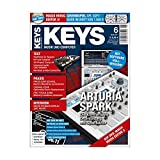 Keys 6 2011 mit DVD - ARTURIA SPARK - Magix Music Editor 3 Software auf DVD - Personal Samples - Free Loops - Audiobeispiele