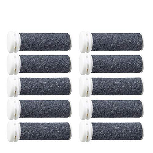 Mineral Ersatzrollen für Hornhautentferner, für extrem raue und harte Haut, 10 Stück