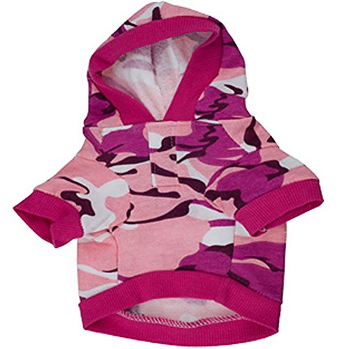 Sotoboo Sommer Camouflage Print Pet Kostüm Pure Colour -