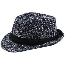 Gysad Cappello Uomo Invernali Cappello di Feltro Cappello da Jazz Cappello  Caldo Cappelli Classici Cappelli da 5154d2f64557