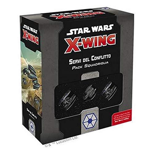 Asmodee Italia- Star Wars X-Wing Servi del Conflitto, Colore, 9954