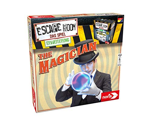 Noris 606101798 Escape Room Erweiterung The Magician, ab 16 Jahren - nur mit dem Chrono Decoder Spielbar