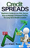Credit Spreads: Beginners Guide to Low Risk, Secure, Easy to Manage, Consistent Profits for Long Term Wealth Creation (English Edition)