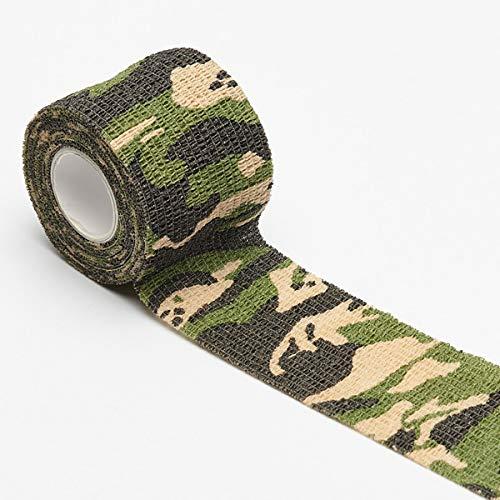 6 Rollen selbstklebende Tarnung Band Camouflage-Bänder Vliesstoff Band -