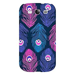 Jugaaduu Feather Pattern Back Cover Case For Samsung Galaxy S3 Neo