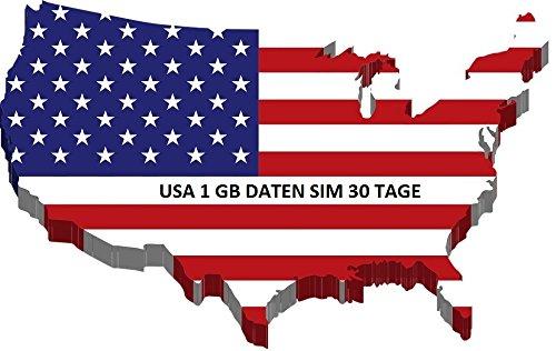 Virgin Mobile Prepaid (Prepaid SIM Karte für USA, Puerto Rico, Hawaii & US Jungferninseln mit 1GB Daten Option für 30 Tage)