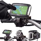 Motocicleta Metal Soporte de perno en forma de U 16–32mm de Manillar de Bicicleta para uso con TomTom Rider V540400GPS