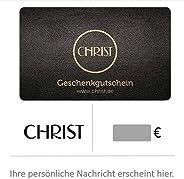 Gutscheinkarte von CHRIST Juweliere - für Deutschland - per E-Mail