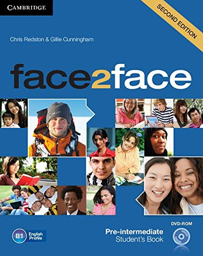 face2face Pre-intermediate Student's Book with DVD-ROM.
